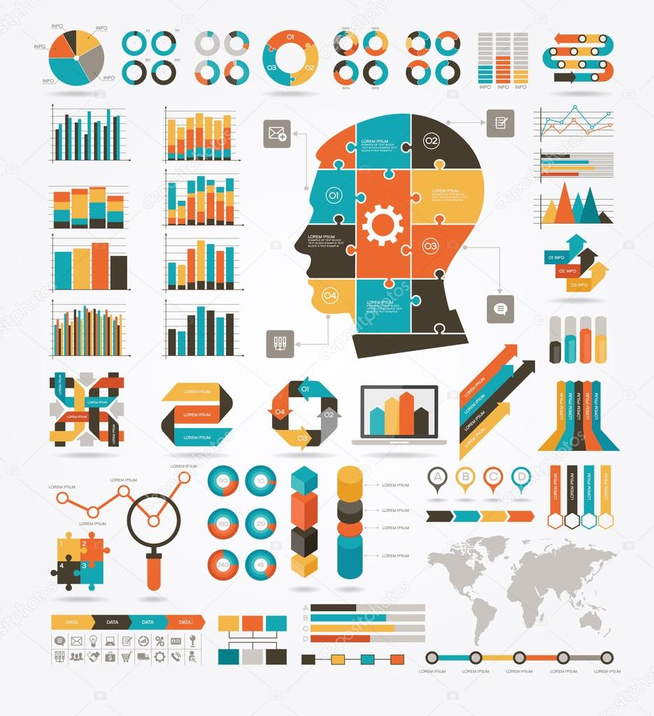 Information Graphics, charts and diagrams