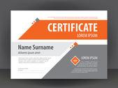 Světle šedá - oranžová certifikát