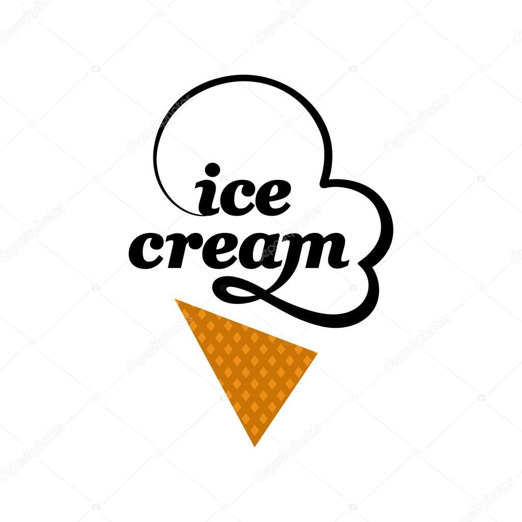 vector logo de helados � archivo im225genes vectoriales