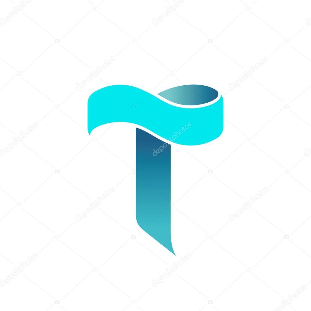 Letter t logo design stock vector loca 110586556 for Letter t decoration