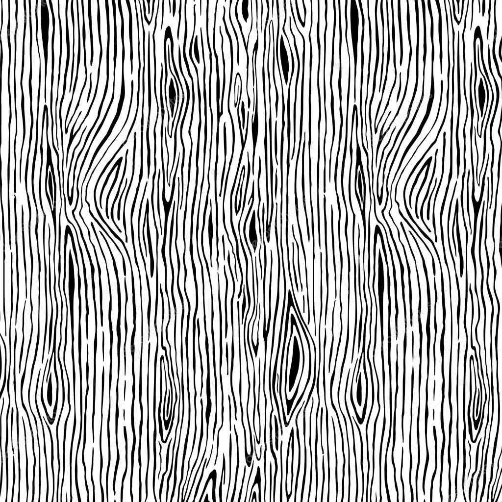 Background wood pattern with black and white structure