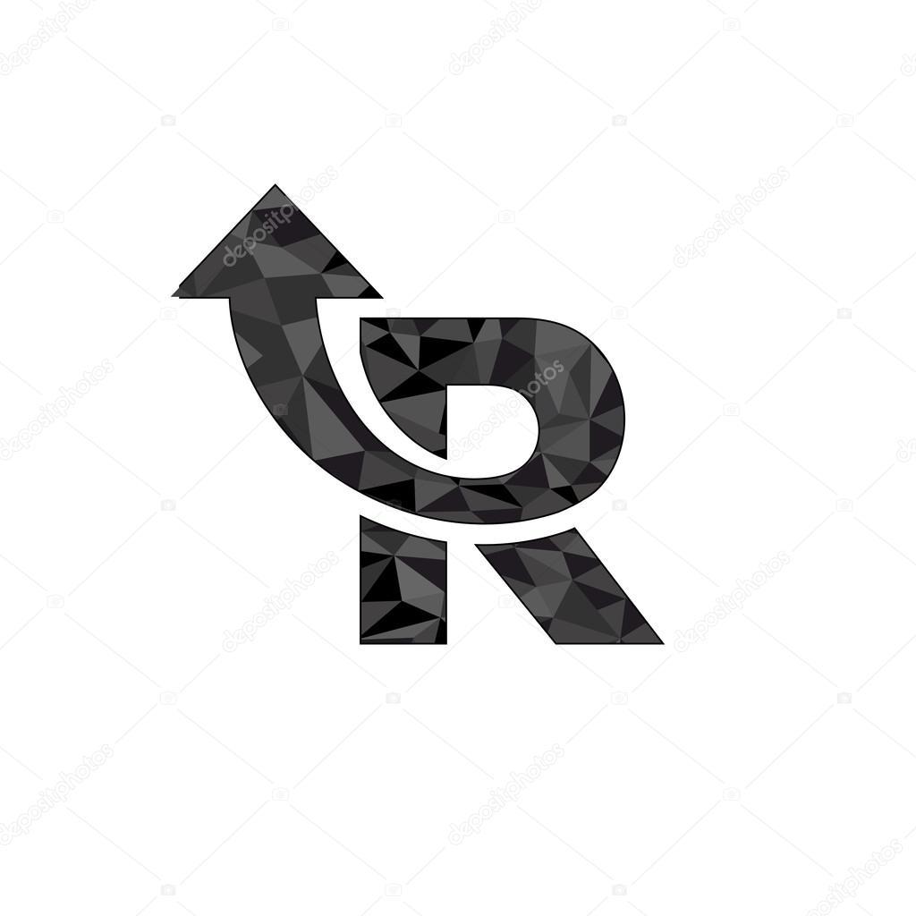 Letter r logo design stock vector loca 71759091 letter r logo design stock vector altavistaventures Image collections