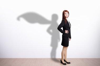 Superhero Business Woman