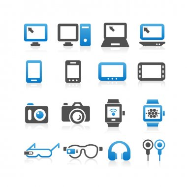 Computers icon set