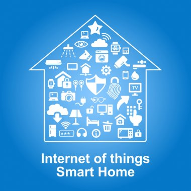 Home and security icons