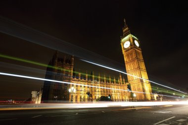 Big Ben and London at night
