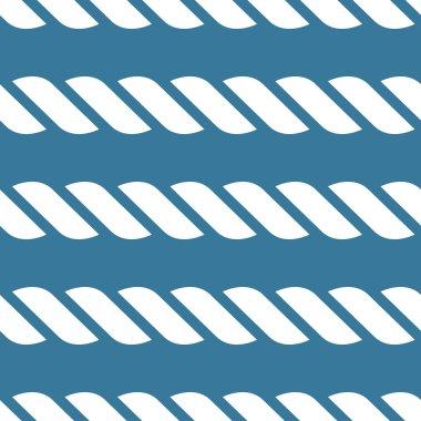 Nautical rope pattern