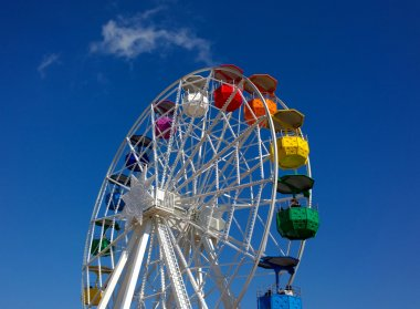 Colorful big wheel