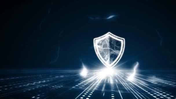 Kiberbiztonsági adatvédelmi üzleti technológiai adatvédelmi koncepció.