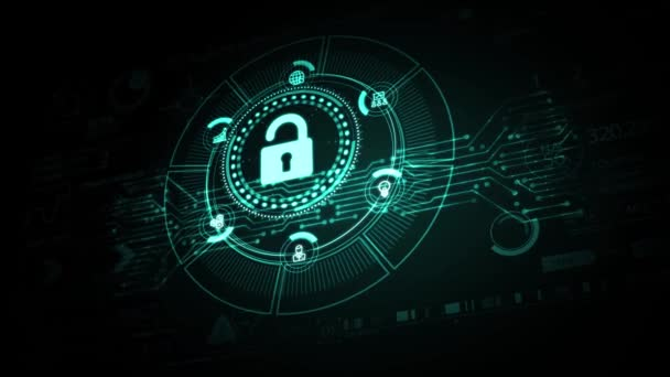 Cyber Security Data Protection Business technologie soukromí koncept.