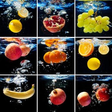 """Картина, постер, плакат, фотообои """"свежие фрукты постеры картины фото"""", артикул 54838573"""