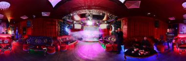 beautiful european night club interior