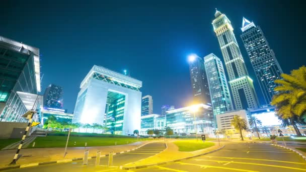 Night  Dubai financial center