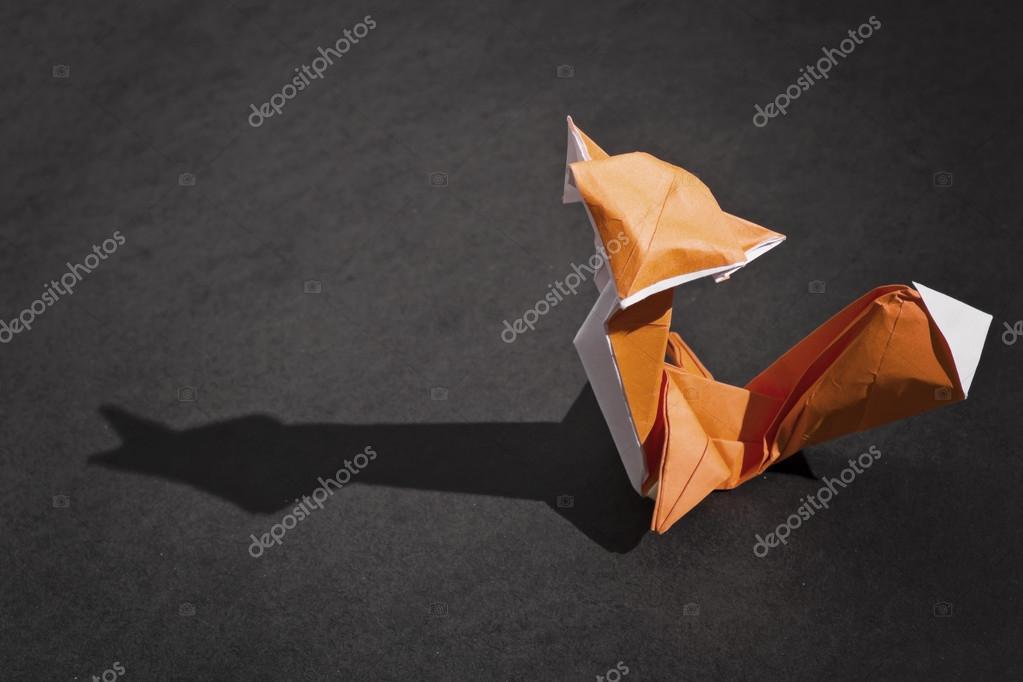 The Fox Origami Stock Photo Ocipalla 119317246