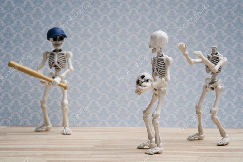 The skeleton jokes — Stock Photo © ocipalla #122987300