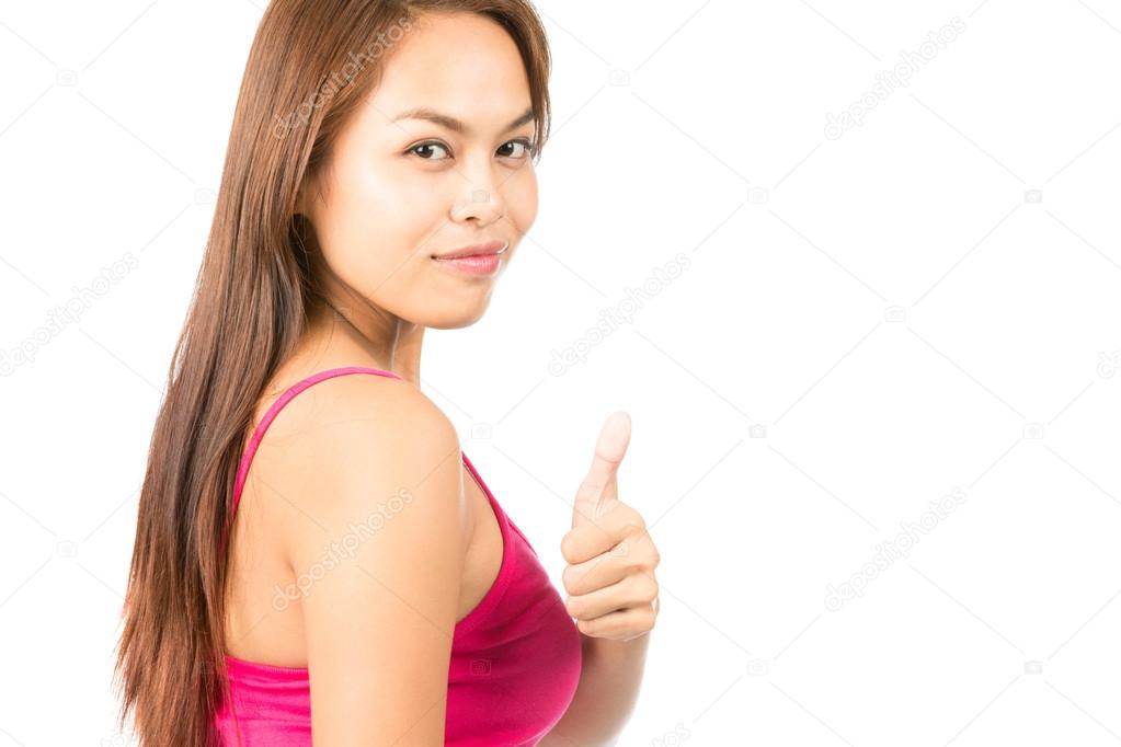 thumbs girls Asian