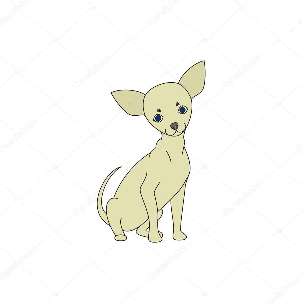 perro Chihuahua — Archivo Imágenes Vectoriales © vip2807 #77491938