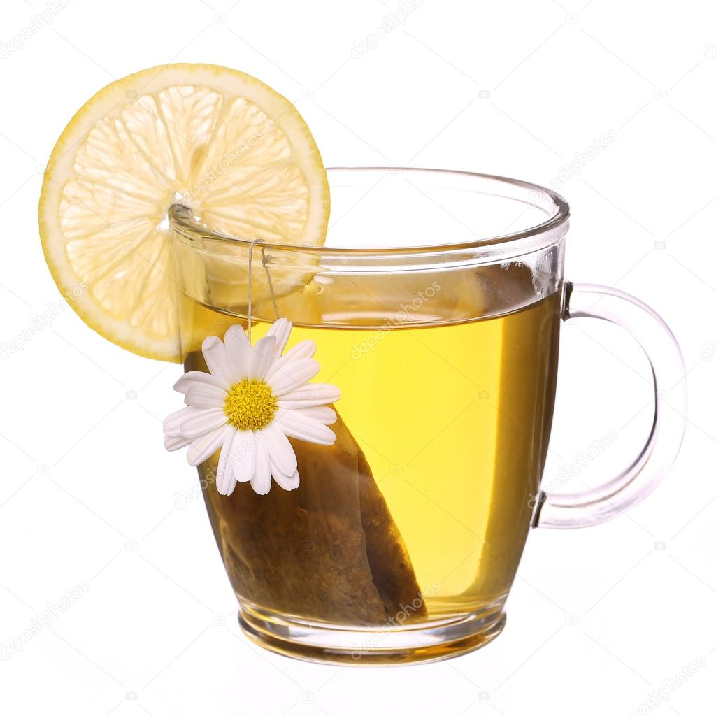 Cup of chamomile tea with chamomile flower tea bag and lemon cup of chamomile tea with chamomile flower tea bag and lemon isolated on white photo by guzel mightylinksfo