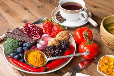 Antioxidant meal