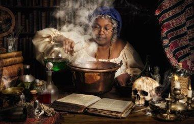 Female alchemist