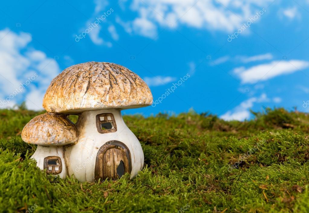 Miniature gnome house