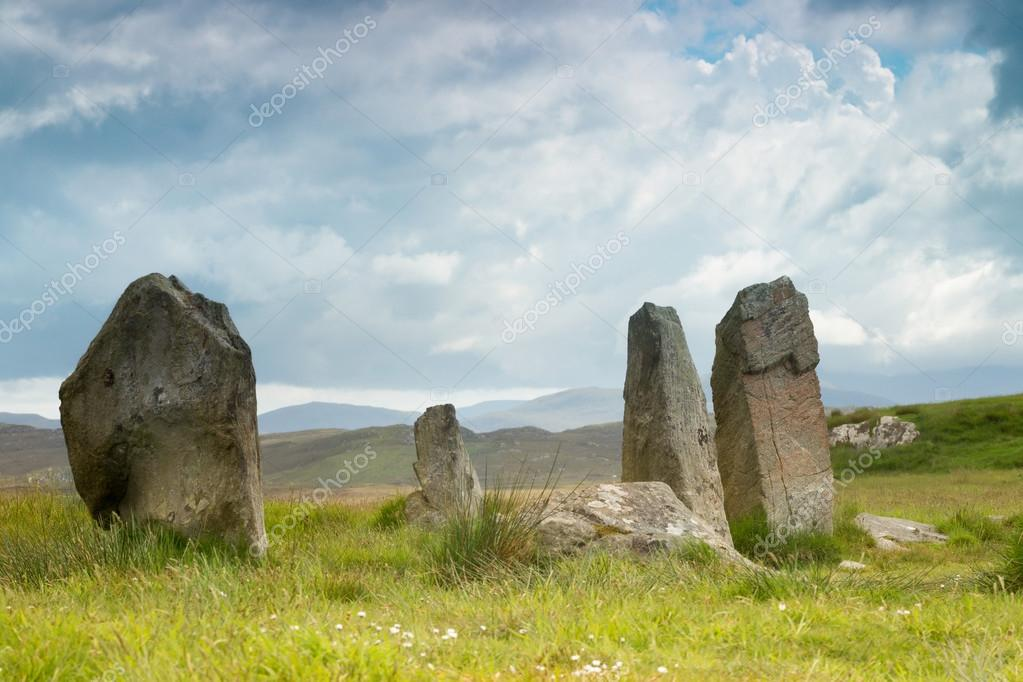 Stone circle on Lewis