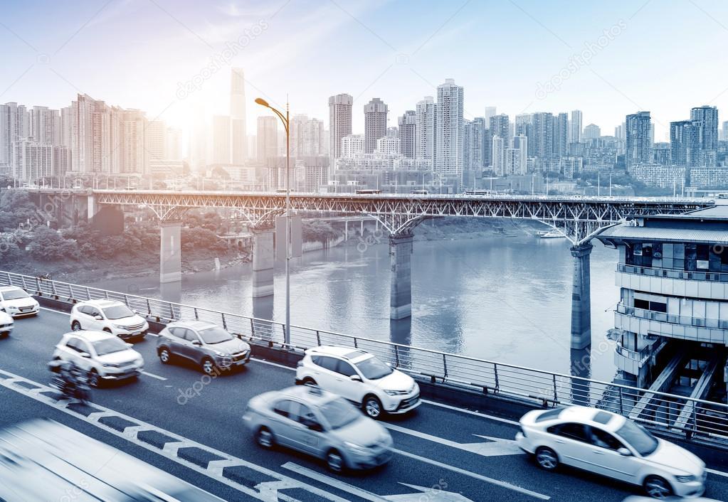 Фотообои China Chongqing dimensional traffic