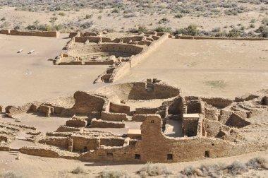 Pueblo Bonito ruins, Chaco Canyon, New Mexico (USA)