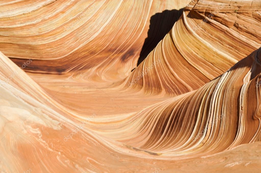 The Wave, sandstone in Coyote Buttes North (Arizona)