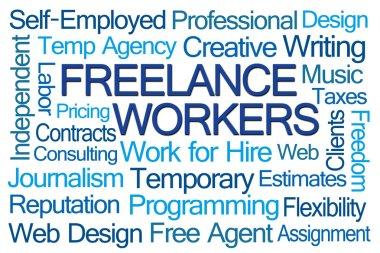 Freelance Workers Word Cloud