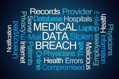 Medical Data Breach Word Cloud