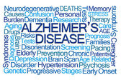 Fotografia Nube di parola di morbo di Alzheimer
