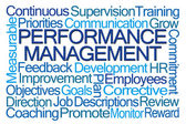 Fotografie Performance Management Word Cloud