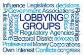 Lobbying Groups Word Cloud