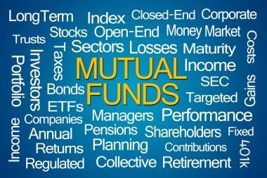 Mutual Funds Word Cloud