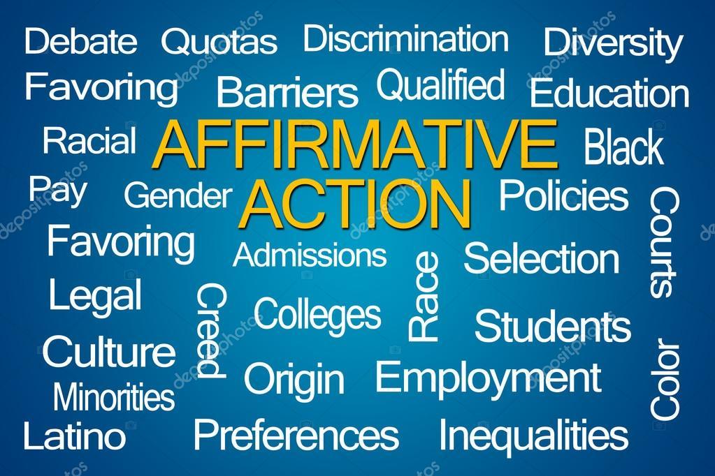 affirmative action word cloud stock photo ventanamedia 98723128