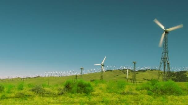 větrné turbíny v větrné farmy