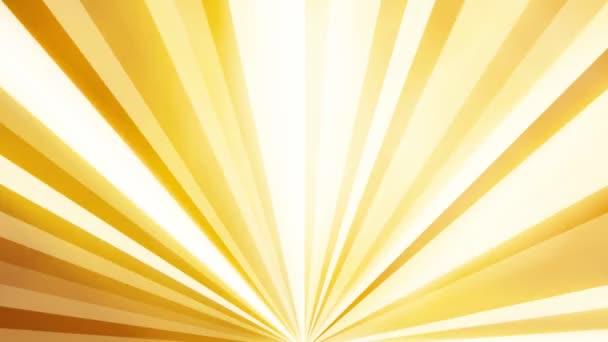Oranžové paprsky zářící světla