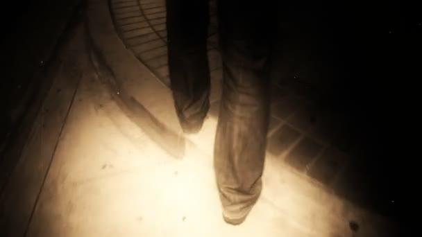 Muž v noci