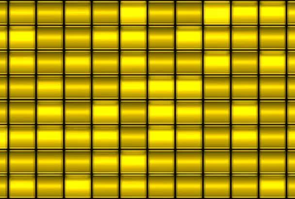 Zlaté zářící čtverce