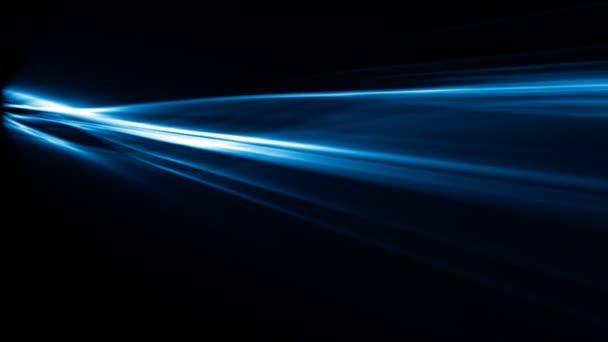 Blue Abstract rays