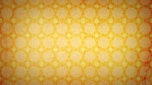 Orange kaleidoscope Wallpaper