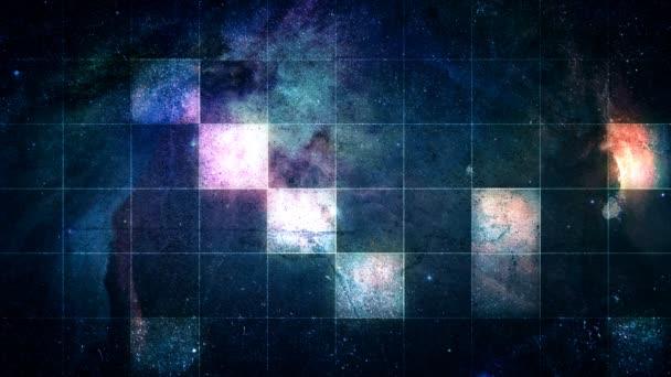 Prostor s čtverce v mřížce