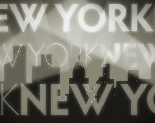 Nápis New york