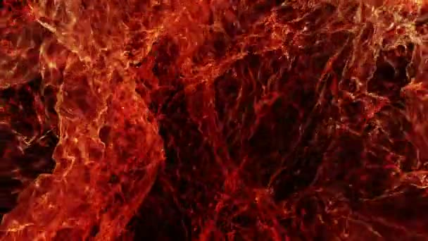 Abstract Slow Motion Fire Loop Background