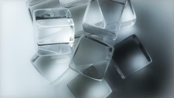 Rotierende Eiswürfel