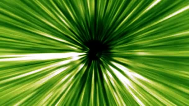 Zelenou pokroucený trámy