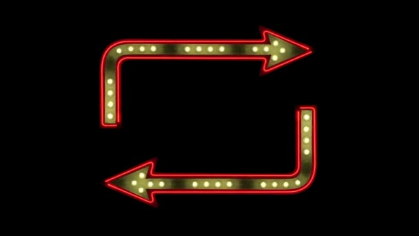 Neon and Chasing Light Arrows