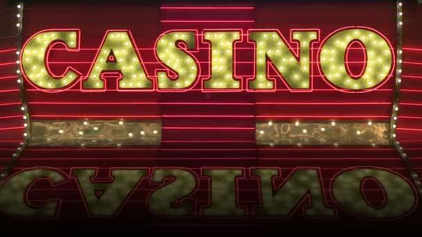 Vintage Casino Zeichen Festzelt Schleife