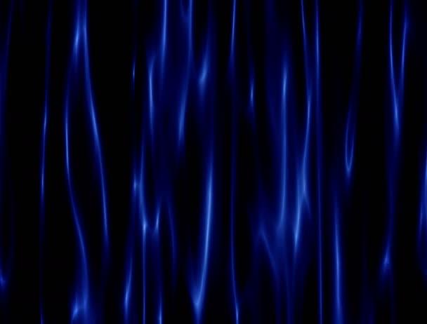 Kék selymes absztrakt függöny